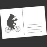 Persönliche Postkarte (EU)