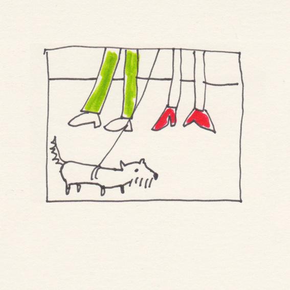 """""""Wartende Hunde. Ein Buch über die Treue"""" & Gassigehen mit Barbara Wrede (nur in Berlin)"""