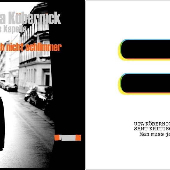 Uta Köbernick - CD Paket (handsigniert)