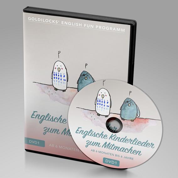 DVD 1 für Babys ab 6 Monate - 6 Jahren (inkl. Handbuch)