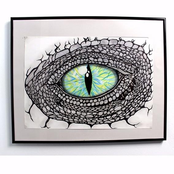 The Dragoneye Photo-Print Handsigniert