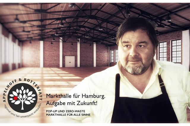Die erste Zero-Waste Markthalle. In Hamburg!