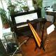 Atelierbesuch mit Harfenmusik