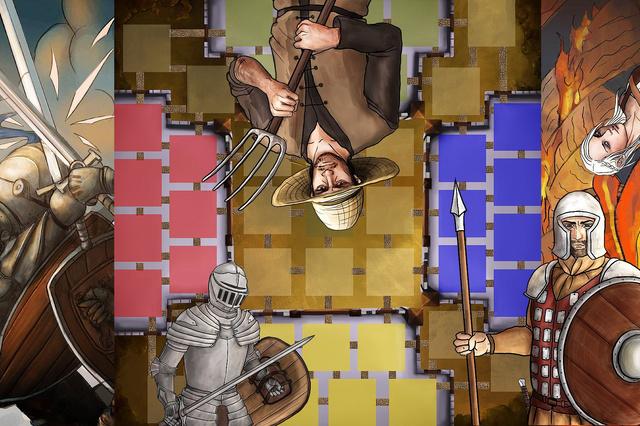 Adellos - Taktik Gesellschaftsspiel von Till Engel