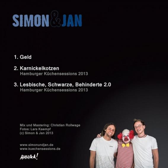 "Simon & Jan - Single ""Geld"", handsigniert"