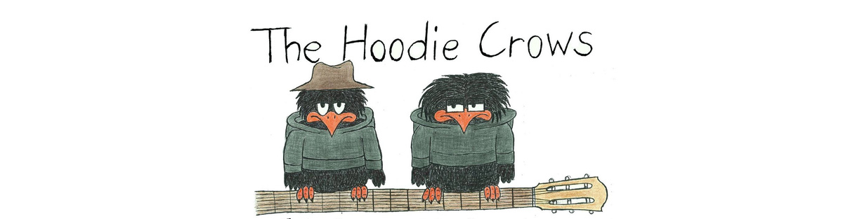 The Hoodie Crows -  Debütalbum 'On the Wing'