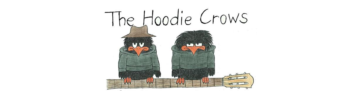 The Hoodie Crows -  Debütalbum 'On the Wing'