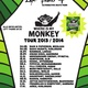 "Tourplakat ""Where Is My Monkey"" + Danksagung"