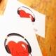 Heartbeat Sticker & Handsignierte Postkarte