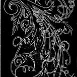 Kunstkarte Linoldruck