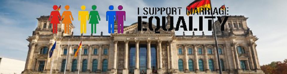 Demo in Berlin REGV gegen Homo- und Transphobie: DIE VÖLLIGE GLEICHSTELLUNG