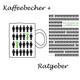 "1 Kaffeebecher + Ratgeber ""Hochbegabung leben"" als Taschenbuch"