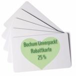 Personalisierte 25% Rabatt-Karte