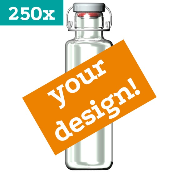 250 soulbottles with your own exclusive design!