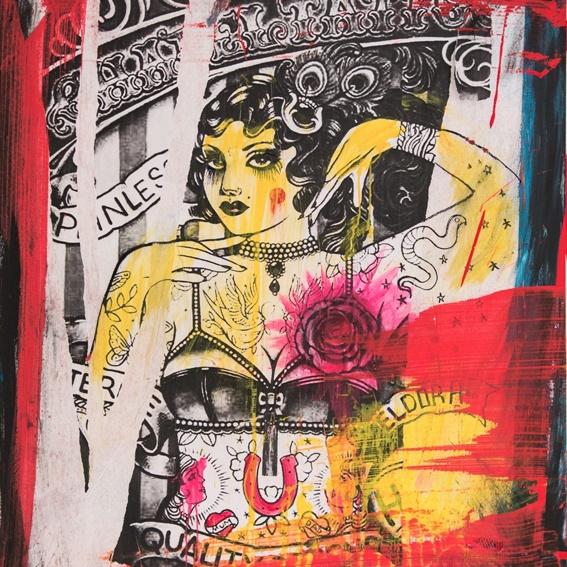 "Anton Unai's Artpiece ""The Princess"""