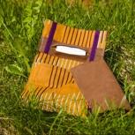 Handgearbeiteter Tabakbeutel  + Festival-Textilticket