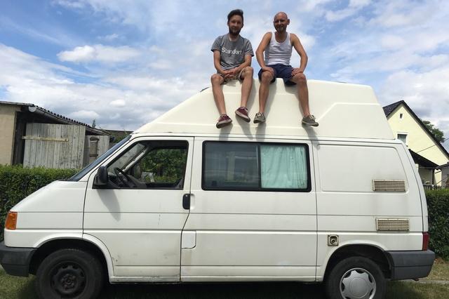 Die Rallye für den guten Zweck, ein Bus für Gambia
