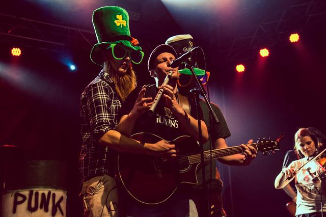 The O'Reillys and the Paddyhats - Gemeinsam für ein neues Album