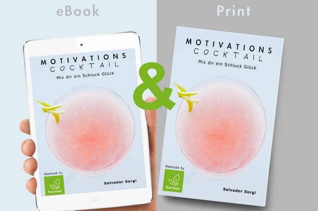 Buchprojekt Motivations Cocktail PrintBuch & eBook