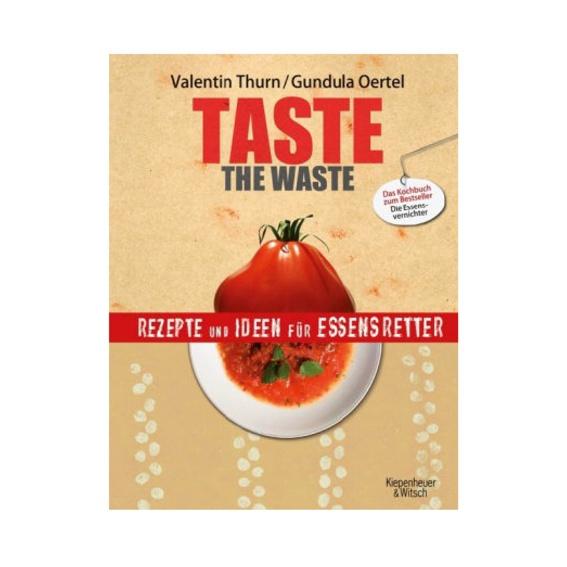 """Taste the Waste Kochbuch + """"Eat me"""" Kunstdruck"""