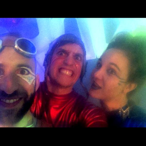 """""""Booze & Bounce"""" - Party mit den Uforiks!"""