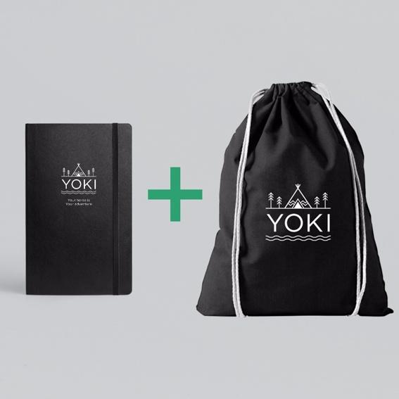 YOKI Planer + YOKI Turnbeutel