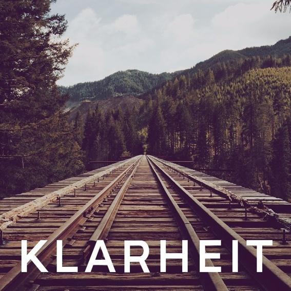 KLARHEIT Wallpaper Paket + Wochenansicht PDF + Monatsreview PDF