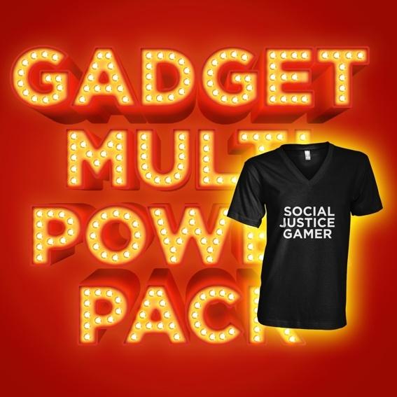 "WASD Schuber + MultiPowerPack ""Social Justice Gamer"""
