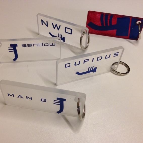 Schlüsselanhänger Sandow-Design