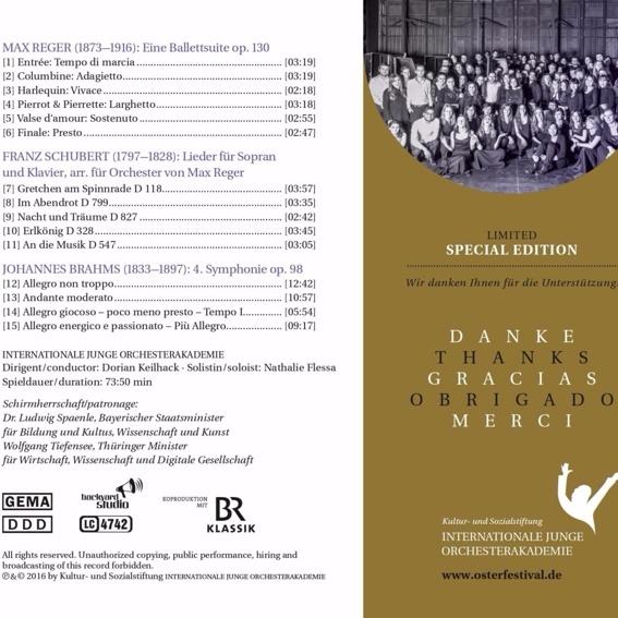 Limitierte Sonderedition der CD 2016