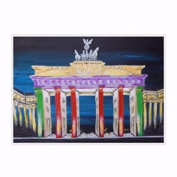 Fotoposter A4 Brandenburger Tor