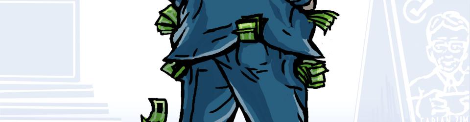 Gesellschaftsspiel: Tiefe Taschen