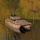 Erprobungsfahrt mit dem Solarboot in Lübeck