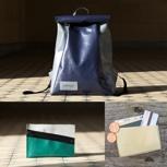 mimycri set: Rucksack + pouch + Kartenhalter
