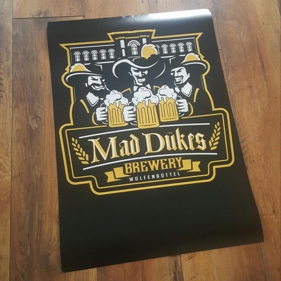 Mad Duke Poster