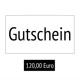 Early Bird: 120,00€ Gutschein Onlineshop