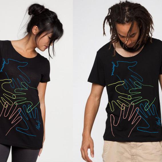 T-Shirt von Jerome und Murat