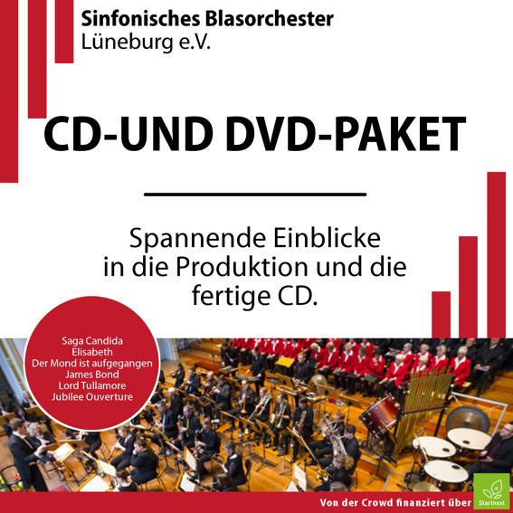 CD- und DVD-Paket