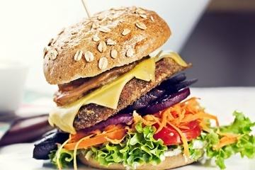 Bunte Burger goes Bio-Supermarkt