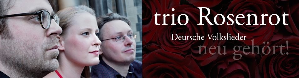 trio Rosenrot / CD-Produktion: Volkslieder Vol.2