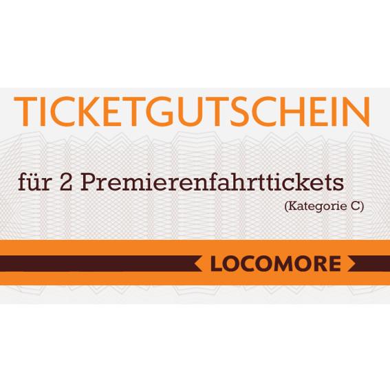 2 Tickets Premierenfahrt Kategorie A