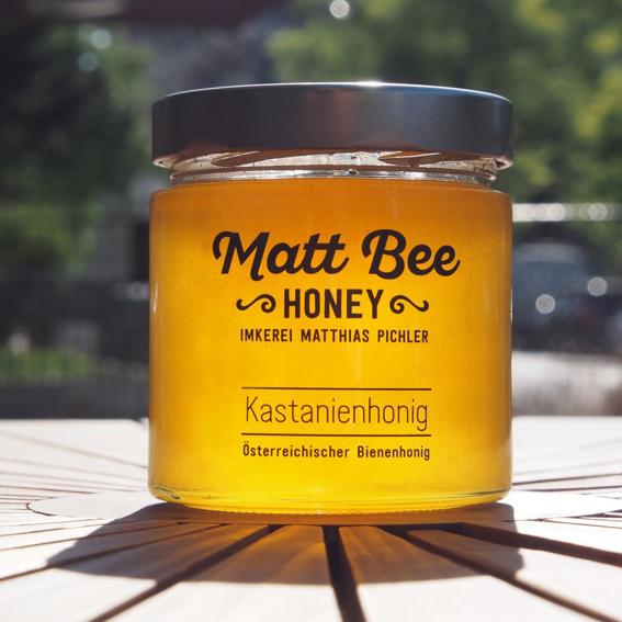 Bienenhonig aus dem Wiener Prater 4 x 250g + 1 x 50g Glas