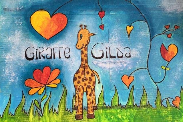 Giraffe Gilda - ein Bilderbuch für Herzkinder