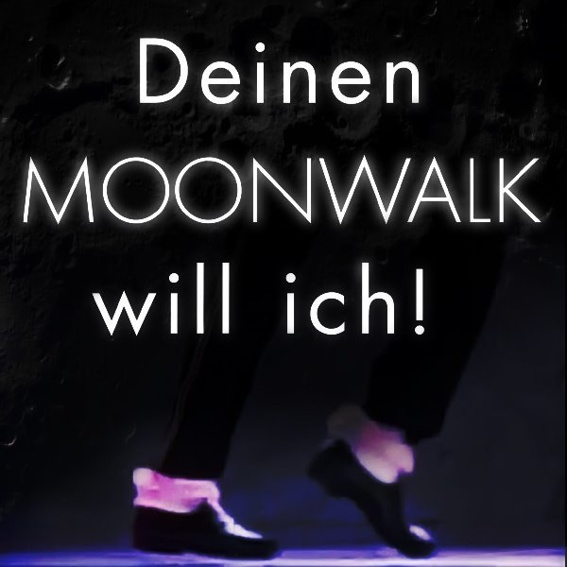 Den Moonwalk erlernen!