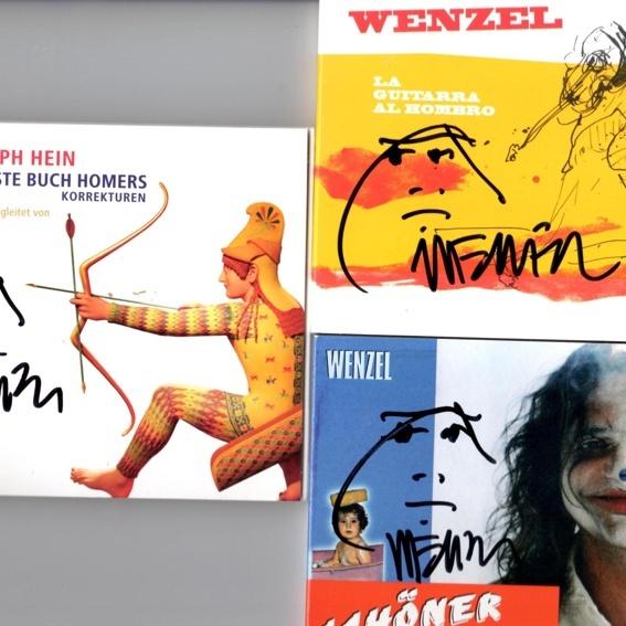 Wenzel, 3CDs, handsigniert