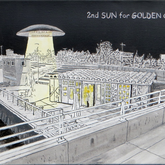 """2nd SUN for GOLDEN CITY"" von Oliver Voigt"