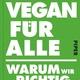 """Jan Bredacks Buch """"Vegan für alle"""" mit Widmung"""