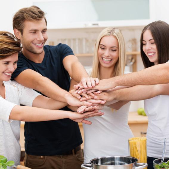 Erlebnis Teambuilding Kochkurs für max. 8 Personen