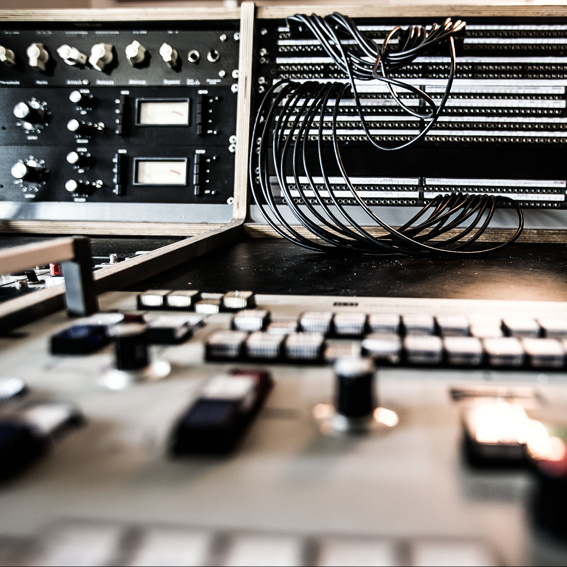 Studiotag mit Techniker