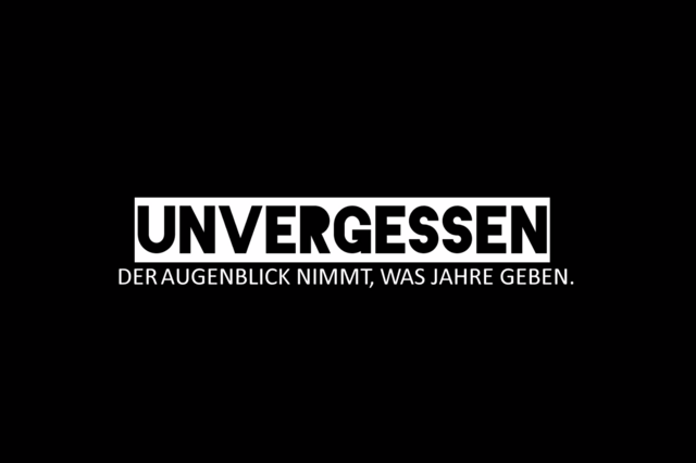 Unvergessen - Filmprojekt